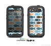 The Vector Fishies V1 Skin For The Samsung Galaxy S3 LifeProof Case