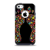 The Vector Floral Feet Icon Collage Skin for the iPhone 5c OtterBox Commuter Case