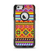 The Vector Gold & Purple Aztec Pattern V32 Apple iPhone 6 Otterbox Commuter Case Skin Set
