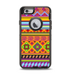 The Vector Gold & Purple Aztec Pattern V32 Apple iPhone 6 Otterbox Defender Case Skin Set