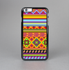 The Vector Gold & Purple Aztec Pattern V32 Skin-Sert Case for the Apple iPhone 6 Plus