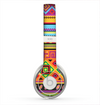The Vector Gold & Purple Aztec Pattern V32 Skin for the Beats by Dre Solo 2 Headphones