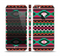 The Vector Green & Pink Aztec Pattern Skin Set for the Apple iPhone 5