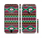 The Vector Green & Pink Aztec Pattern Sectioned Skin Series for the Apple iPhone 6 Plus