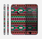 The Vector Green & Pink Aztec Pattern Skin for the Apple iPhone 6