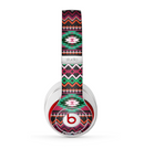 The Vector Green & Pink Aztec Pattern Skin for the Beats by Dre Studio (2013+ Version) Headphones