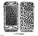 The Vector Leopard Animal Print Skin for the iPhone 5-5s NUUD LifeProof Case for the LifeProof Skin