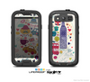 The Vector London Sketchbook Collage Skin For The Samsung Galaxy S3 LifeProof Case