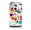 The Vector London Sketchbook Collage Skin for the iPhone 5c OtterBox Commuter Case