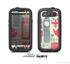 The Vector London Time Red Skin For The Samsung Galaxy S3 LifeProof Case