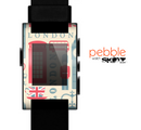 The Vector London Time Red Skin for the Pebble SmartWatch