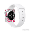 The Vector Love Hearts Collage Full-Body Skin Kit for the Apple Watch