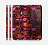 The Vector Orange & Pink Coffee Time Skin for the Apple iPhone 6 Plus