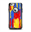 The Vector Paint Drips Apple iPhone 6 Otterbox Commuter Case Skin Set