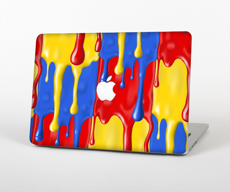 "The Vector Paint Drips Skin Set for the Apple MacBook Pro 15"" with Retina Display"