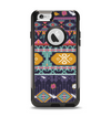 The Vector Purple and Colored Aztec pattern V4 Apple iPhone 6 Otterbox Commuter Case Skin Set