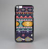 The Vector Purple and Colored Aztec pattern V4 Skin-Sert Case for the Apple iPhone 6 Plus