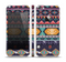 The Vector Purple and Colored Aztec pattern V4 Skin Set for the Apple iPhone 5
