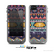 The Vector Purple and Colored Aztec pattern V4 Skin for the Apple iPhone 5c LifeProof Case