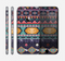 The Vector Purple and Colored Aztec pattern V4 Skin for the Apple iPhone 6