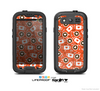 The Vector Red & Black Coffee Love Pattern Skin For The Samsung Galaxy S3 LifeProof Case