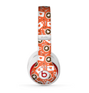 The Vector Red & Black Coffee Love Pattern Skin for the Beats by Dre Studio (2013+ Version) Headphones