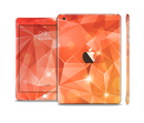 The Vector Shiny Coral Crystal Pattern Full Body Skin Set for the Apple iPad Mini 3