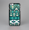The Vector Teal & Green Aztec Pattern  Skin-Sert Case for the Apple iPhone 6 Plus