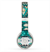 The Vector Teal & Green Aztec Pattern  Skin for the Beats by Dre Solo 2 Headphones