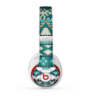 The Vector Teal & Green Aztec Pattern  Skin for the Beats by Dre Studio (2013+ Version) Headphones