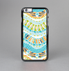 The Vector Teal & Green Snake Aztec Pattern Skin-Sert Case for the Apple iPhone 6 Plus