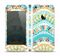 The Vector Teal & Green Snake Aztec Pattern Skin Set for the Apple iPhone 5