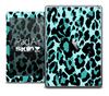 The Vector Turquoise Cheetah Skin for the iPad Air