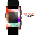 The Vector Vintage Color Blotches Skin for the Pebble SmartWatch