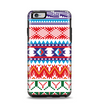 The Vector White-Blue-Red Aztec Pattern Apple iPhone 6 Plus Otterbox Symmetry Case Skin Set