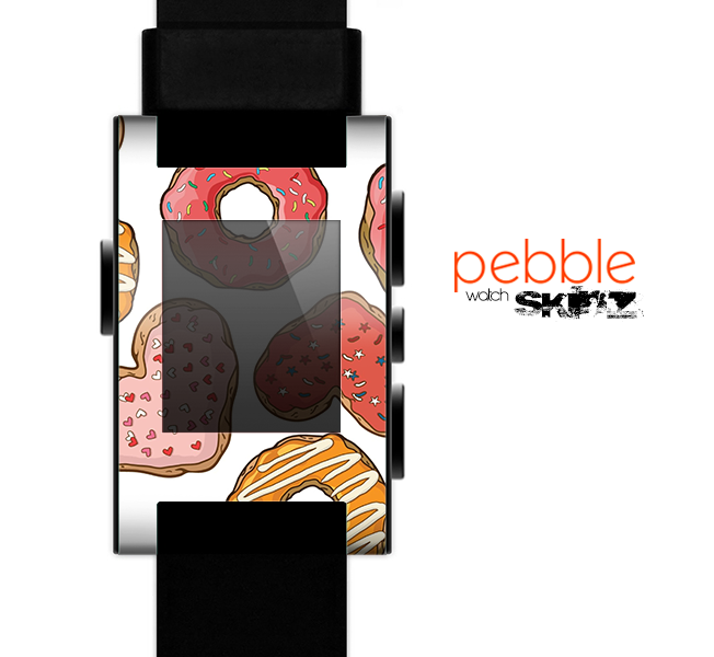 The Vectored Love Treats Skin for the Pebble SmartWatch