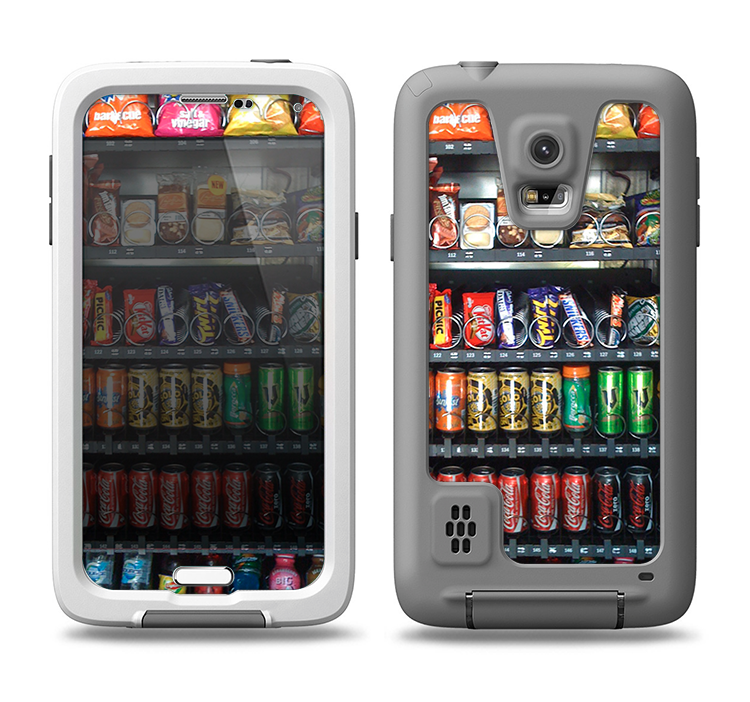 the best attitude 7d536 bbed4 The Vending Machine Samsung Galaxy S5 LifeProof Fre Case Skin Set