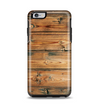 The Vertical Raw Aged Wood Planks Apple iPhone 6 Plus Otterbox Symmetry Case Skin Set