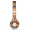 The Vertical Raw Aged Wood Planks Skin for the Beats by Dre Solo 2 Headphones