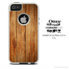 The Vertical Wood Skin For The iPhone 4-4s or 5-5s Otterbox Commuter Case