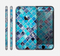 The Vibrant Blue Glow-Tiles Skin for the Apple iPhone 6