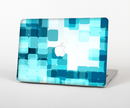"The Vibrant Blue HD Blocks Skin Set for the Apple MacBook Pro 15"" with Retina Display"