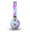 The Vibrant Blue & Purple Flower Field Skin for the Beats by Dre Mixr Headphones