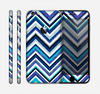The Vibrant Blue Sharp Chevron Skin for the Apple iPhone 6