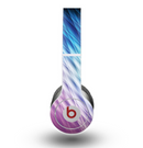 The Vibrant Blue and Pink Neon Interlock Pattern Skin for the Beats by Dre Original Solo-Solo HD Headphones