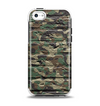 The Vibrant Brick Camouflage Wall Apple iPhone 5c Otterbox Symmetry Case Skin Set