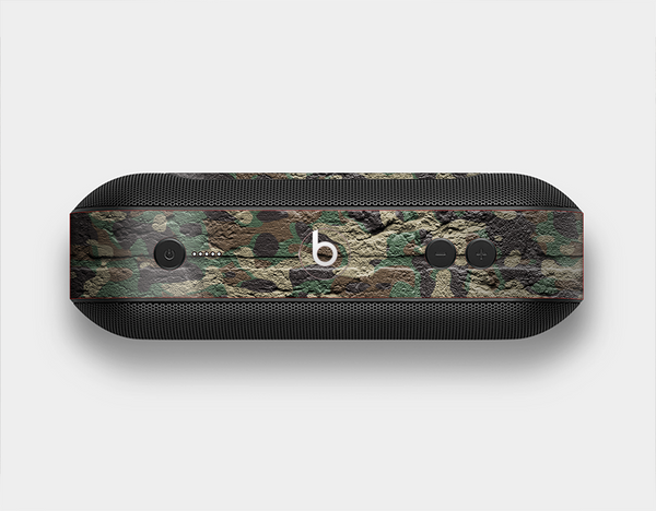 The Vibrant Brick Camouflage Wall Skin Set for the Beats Pill Plus