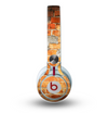The Vibrant Brick Wall Skin for the Beats by Dre Mixr Headphones