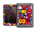 The Vibrant Burgundy Vector Shopping Apple iPad Air LifeProof Fre Case Skin Set