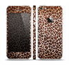 The Vibrant Cheetah Animal Print V3 Skin Set for the Apple iPhone 5